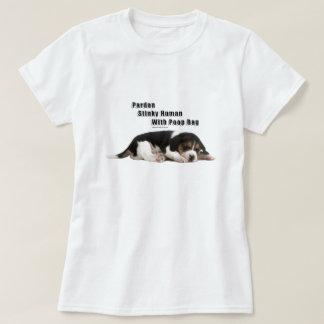 Den Stinky människan med Poop hänger lös T Shirt