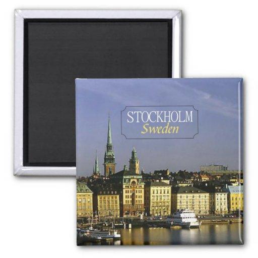 Den Stockholm sverigen reser fotokylmagneten Magneter För Kylskåp
