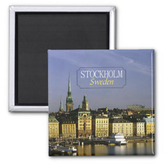 Den Stockholm sverigen reser fotokylmagneten Magnet