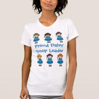 Den stolt daisyn för daisysoldatledare ror tshirts