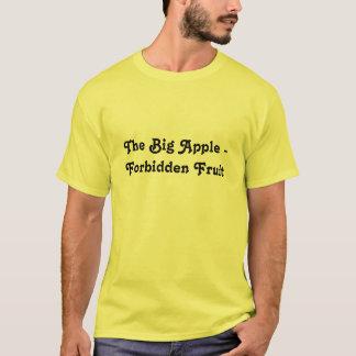 Den stora Apple - förbjuden frukt Tee Shirt