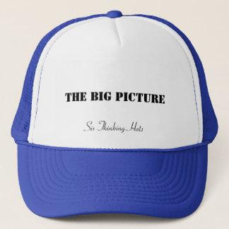 Den stora bilden, sex tänkande hattar keps