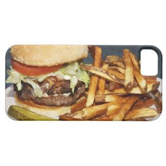 den stora dubbla halvan dunkar hamburgaresmåfiskar iPhone 5 cases