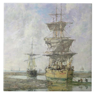 Den stora frakten, 1879 (olja på kanfas) kakelplatta
