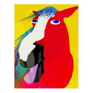 Den stora Gäspning-Nyckfulla hästsamlingen Vykort