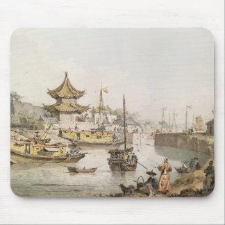 Den storslagna kanalen, china, (w/c) musmatta