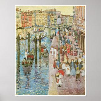 Den storslagna kanalen, Venedig Affischer