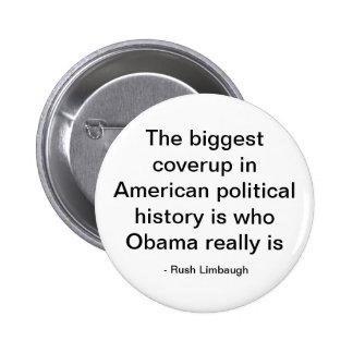 Den största coverupen i politisk historia för amer knapp