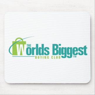Den största musen för världar vadderar musmattor