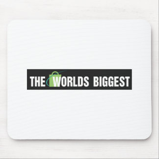 Den största musen för världar vadderar: Svart & vi Mus Matta