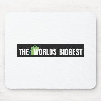 Den största musen för världar vadderar: Svart & vi Musmatta
