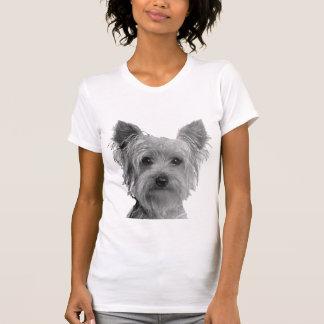 Den Stylized Yorkshire terrieren avbildar T Shirt