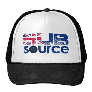 Den SubSource logotypen utrustar Mesh Kepsar