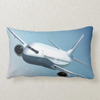 Den Supersonic jeten på himmlen kudder Lumbarkudde