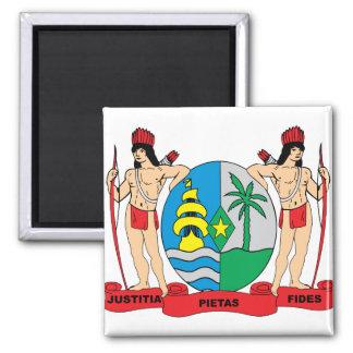 Den Surinam vapenskölden specificerar Magnet