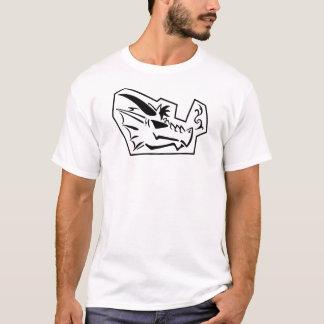 Den svart draken profilerar t-shirts