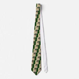 Den svart draken vrålar slips
