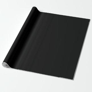 Den svart kicken avslutar kulört presentpapper