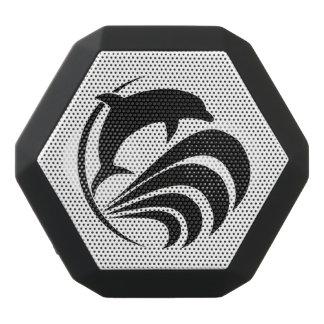 Den svart Silhouettedelfinbanhoppningen i hav Svart Bluetooth Högtalare