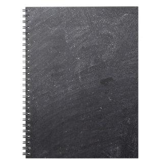 Den svart tavlan för anpassadet baserar anteckningsbok med spiral