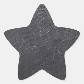 Den svart tavlan för anpassadet baserar stjärnformat klistermärke