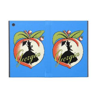 Den sydliga silhouetten för den vintageGeorgia per iPad Mini Fodral