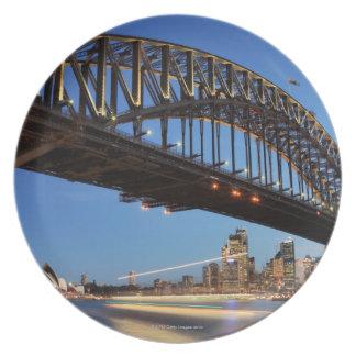 Den Sydney hamnen överbryggar, det Sydney Tallrik