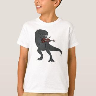 Den T-Rex fiolen lurar skjortan Tröjor