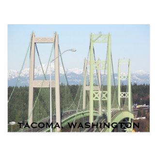 Den Tacoma trångt pass överbryggar reser Vykort
