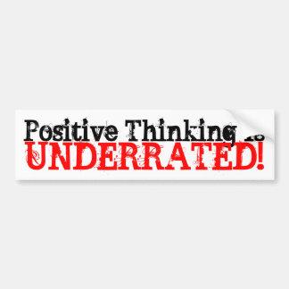 Den tänkande realiteten är, Underrated! Bildekal