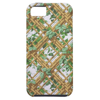 Den tät murgrönaen och spaljé mönstrar tapeten, tough iPhone 5 fodral