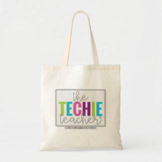 Den Techie lärare hänger lös/totot Tygkasse