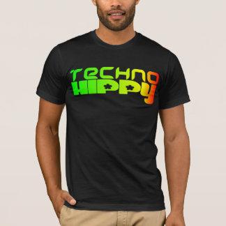 Den Technohippy utslagsplatsen T Shirts