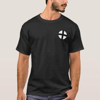 Den Teutonic riddaresvarten & vitrundan förseglar Tee Shirt