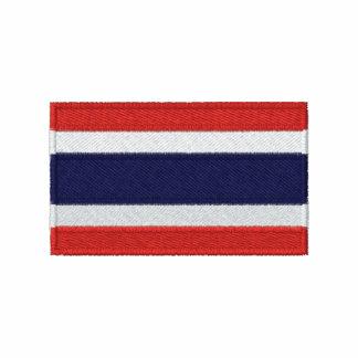 Den Thailand flagga broderade manar