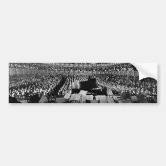 Den tidigare storstads- Sten 1937 för operahus Bildekal