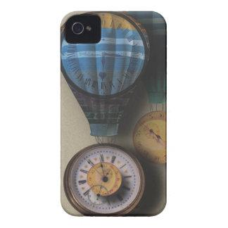 Den Time flugadirigiblen Steampunk tar tid på Case-Mate iPhone 4 Skydd