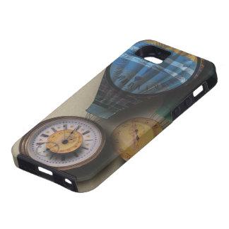 Den Time flugadirigiblen Steampunk tar tid på iPhone 5 Case-Mate Fodral