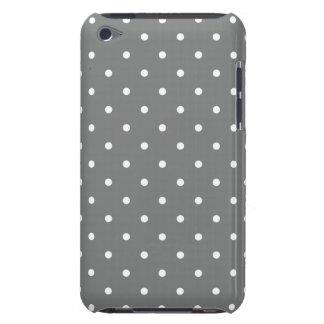 Den Titanium 50-talstilpolkaen pricker fodral för Barely There iPod Fodraler