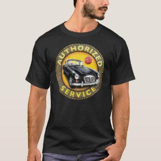 Den tjänste- MgA coupen undertecknar T Shirt