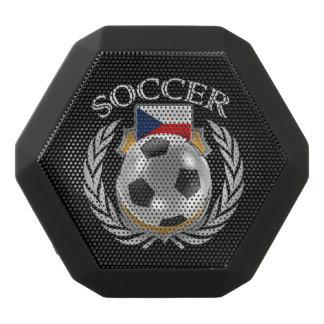 Den tjeckiska fläkten för republikfotboll 2016 svart bluetooth högtalare