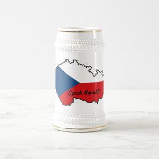 Den tjeckiska republiken sjunker kartamuggen sejdel