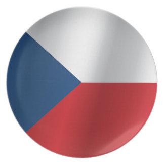 Den tjeckiska republiken sjunker tallrik