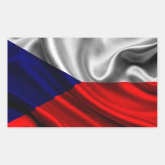 Den tjeckiska republiken sjunker tyg