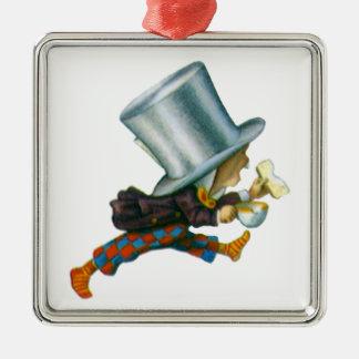 Den tokiga hatteren från Alice i underland Julgransprydnad Metall