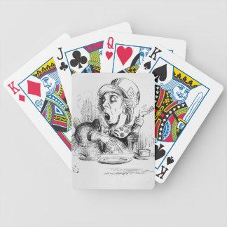Den tokiga hatteren, illustration från 'Alices Spelkort