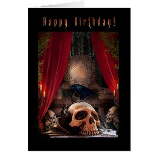 Den tomma grattis på födelsedagen - Ravenshåla - Hälsningskort