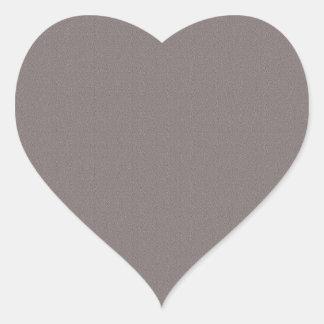 Den tomma mallen tillfogar ditt avbildar hjärtformat klistermärke