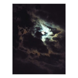den toppna månen fototryck