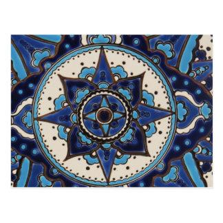 Den traditionella antika ottomanturken belägger vykort